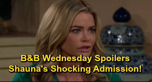 The Bold and the Beautiful Spoilers: Wednesday, December 11 - Shauna's Stunning Admission To Ridge - Thomas Pitches Fashion Competition To Hope