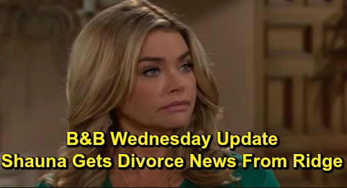 The Bold and the Beautiful Spoilers: Wednesday, December 11 Update – Hope Faces Fashion Faceoff Pressure – Ridge's Divorce News for Shaun a