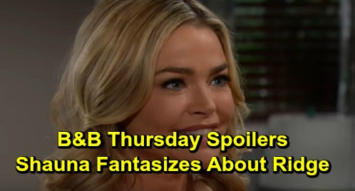 The Bold and the Beautiful Spoilers: Thursday, September 26 - Thomas Busted Visiting Douglas - Shauna Fantasizes About Ridge