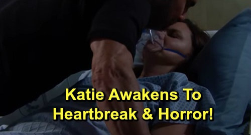 The Bold and the Beautiful Spoilers: Wednesday, September 25 – Katie Awakens to Horror and Heartbreak – Quinn Wants 'Wally' Destruction