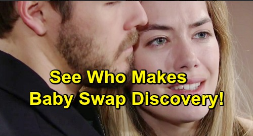 The Bold and the Beautiful Spoilers: See Who Makes Baby Swap Discovery – Hides Truth from Hope and Liam