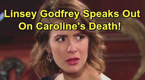 The Bold and the Beautiful Spoilers: Linsey Godfrey Speaks Out on Caroline Spencer's Death – How She Feels About Character's Demise