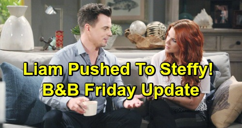 The Bold and the Beautiful Spoilers: Friday, April 19 Update – Thomas Manipulates Hope for Love – Liam Pushed Toward Steffy