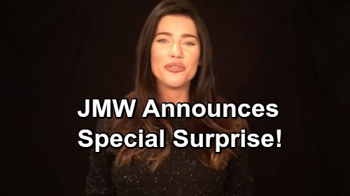 The Bold and the Beautiful Spoilers: Jacqueline MacInnes Wood Announces Special Surprise Coming For B&B Fans