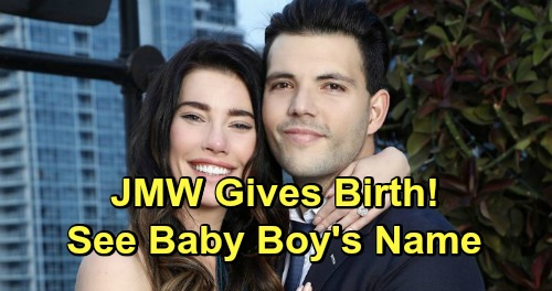 The Bold and the Beautiful Spoilers: Jacqueline MacInnes Wood's Birth Announcement – Baby Boy's Name Revealed