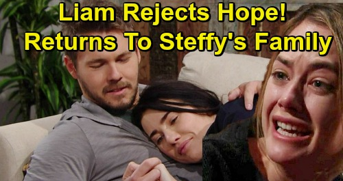 The Bold and the Beautiful Spoilers: Steam Reunite Over Phoebe and Kelly Family – Liam Rejects Heartbroken Hope
