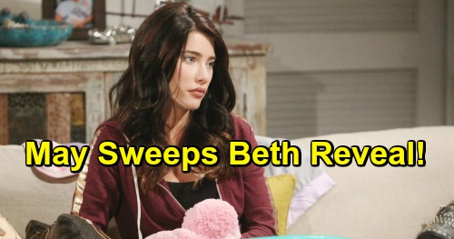 The Bold and the Beautiful Spoilers: Steffy's Trip Postpones Phoebe Reveal - May Sweeps For Baby Beth Bombshell