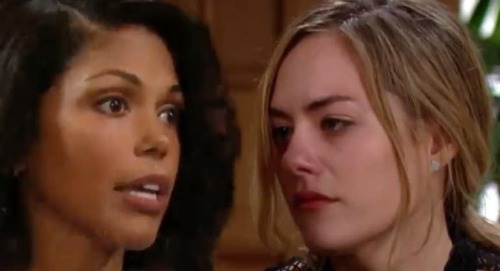 The Bold and the Beautiful Spoilers: Maya Discovers Baby Swap – Wants to Stop Hope's Suffering, But Carter Hurdle Spells Trouble