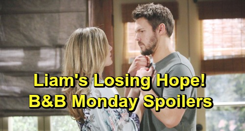 The Bold and the Beautiful Spoilers: Monday, April 22 - Thomas Schemes To Win Over Hope - Liam Struggles To Save Lope Intimacy