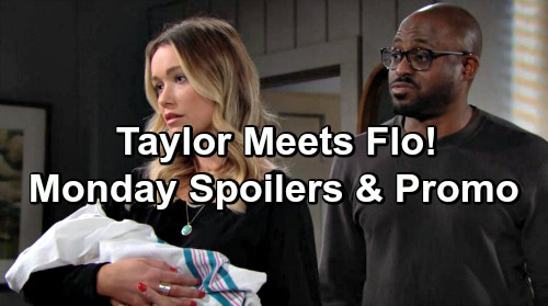 The Bold and the Beautiful Spoilers: Monday, January 14 Update - Reese Stuns Taylor With Adoption Proposition, Baby Broker Intro