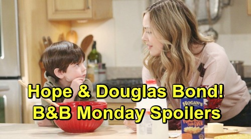 The Bold and the Beautiful Spoilers: Monday, March 18 - Steffy Still Leaving Despite Caroline's Death - Hope Bonds With Douglas
