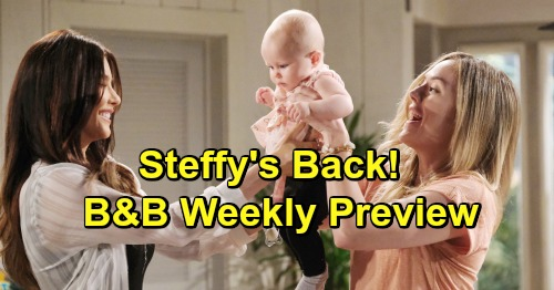 The Bold and the Beautiful Spoilers: Week of May 20 Preview - Celebrates Steffy's Homecoming – Promises Rebel Is 'Ready to Rock'