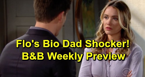 The Bold and the Beautiful Spoilers: Week of April 1 Preview – Shauna Fulton Hits Town – Flo's Bio Dad Truth – Liam's Thope Warning