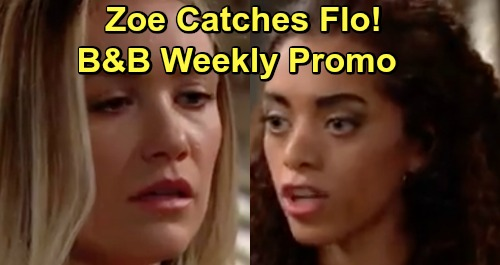 The Bold and the Beautiful Spoilers: Hot Promo Week of February 4 – Zoe Learns Steffy Baby Shocker – Flo Backed Into a Corner