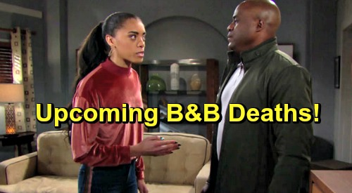 The Bold and the Beautiful Spoilers: Upcoming B&B Deaths - Are Reese and Zoe Going To Be Killed Off?