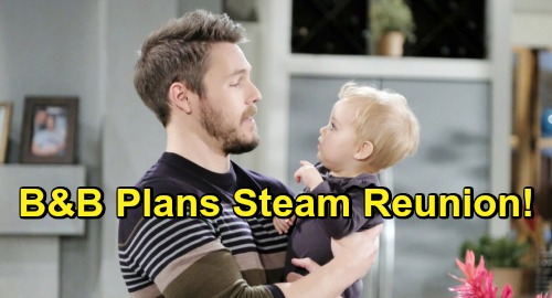 The Bold and the Beautiful Spoilers: Steffy Ready for Perfect Steam Family – B&B Plans Reunion with Liam