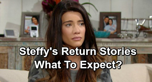 The Bold and the Beautiful Spoilers: What to Expect as Steffy Returns – Flo Conflict, Thomas Drama and Phoebe Exposure