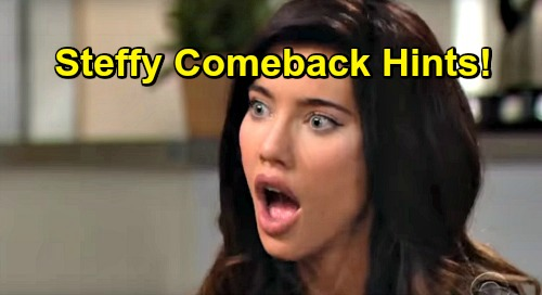 The Bold and the Beautiful Spoilers: New Steffy Comeback Hints Surface – Jacqueline MacInnes Wood's Return Brewing