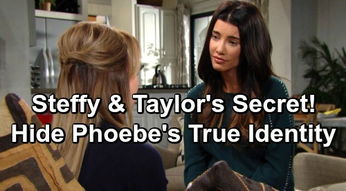 The Bold and the Beautiful Spoilers: Steffy and Taylor's Shocking Pact – Keep Phoebe's True Identity Secret