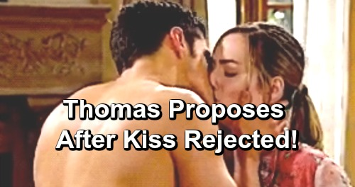 The Bold and the Beautiful Spoilers: Thomas Proposes to Married Hope – Insists Caroline Wanted Her to Raise Douglas