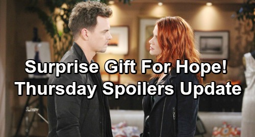 The Bold and the Beautiful Spoilers: Thursday, January 17 Update – Hope's Surprise Lifts Her Spirits – Katie Enrages Thorne