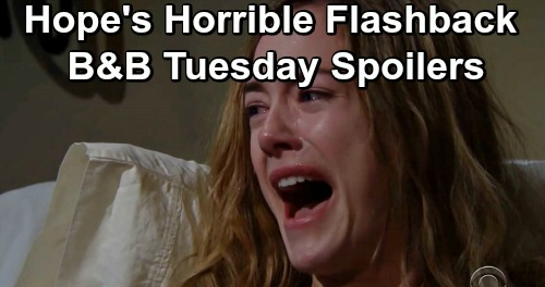 The Bold and the Beautiful Spoilers: Tuesday, April 30 - Hope Flashes Back To Baby Beth Tragedy - Omerta For Flo