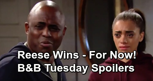 The Bold and the Beautiful Spoilers: Tuesday, March 12 - Reese Convinces Flo & Zoe To Keep Quiet - Wyatt Vows To Support Sally