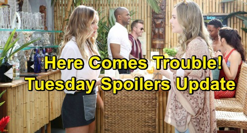 The Bold and the Beautiful Spoilers: Tuesday, March 5 Update – Hope and 'Birth Mom' Flo Connect, Zoe Rattled – Liam Looks in His Heart