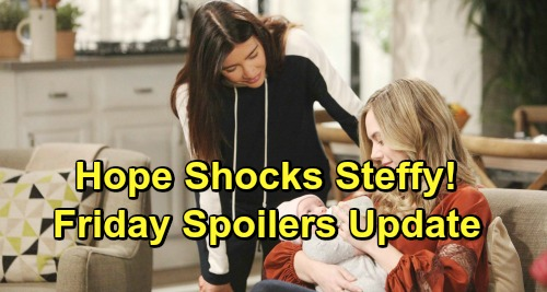 The Bold and the Beautiful Spoilers: Friday, February 15 Update – Hope Surprises Steffy - Wyatt Consoles Heartbroken Katie