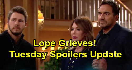 The Bold and the Beautiful Spoilers: Tuesday, January 8 Update – Grieving Lope's Loved Ones Struggle to Help – Reese's Desperate Vow