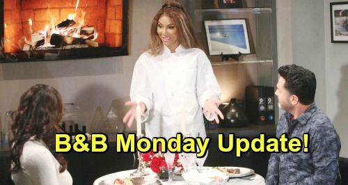 The Bold and the Beautiful Spoilers: Monday, April 1 Update - Bill & Katie Discover Who's Setting Them Up - Brooke Confronts Taylor
