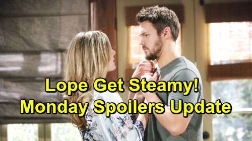 The Bold and the Beautiful Spoilers: Monday, April 22 Update – Sally Shuts Thomas Down – Liam and Hope's Date Gets Hot