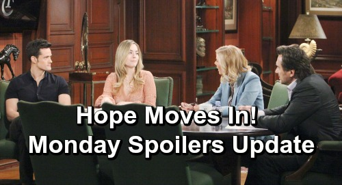 The Bold and the Beautiful Spoilers: Monday, April 29 Update – Hope Moves Into Thomas' Lair - Flo's Stunning Job Offer