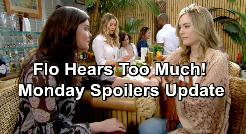 The Bold and the Beautiful Spoilers: Monday, March 4 Update – Flo's Heart Breaks as Hope Confides in Katie – Liam Needs Wyatt's Advice
