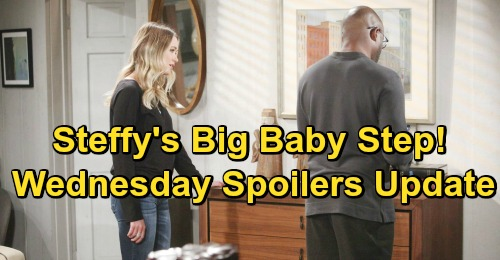 The Bold and the Beautiful Spoilers: Wednesday, January 16 Update – Steffy Takes Big Baby Step – Will Brings Bill and Katie Closer