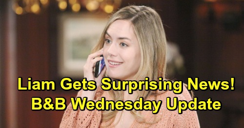 The Bold and the Beautiful Spoilers: Wednesday, May 1 Update – Sally's Secret Drives Wyatt to Kiss Flo – Hope's Surprising News for Liam