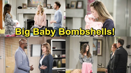 The Bold and the Beautiful Spoilers: Week of February 4 Update - Explosive Showdowns, Growing Suspicions and Big Baby Bombshells