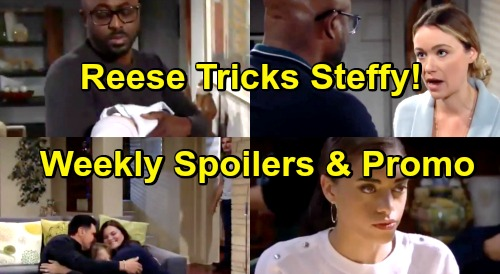 The Bold and the Beautiful Spoilers: Week of January 21 Preview – Flo Agrees To Beth Baby Crime – Reese Tricks Steffy