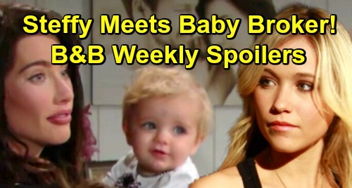 The Bold and the Beautiful Spoilers: Week of January 14 – Flo The Baby Broker Meets Steffy For Beth's Adoption