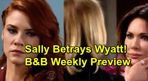 The Bold and the Beautiful Spoilers: Week of March 25 Preview – Brooke and Taylor's Shocking Brawl – Sally Betrays Wyatt