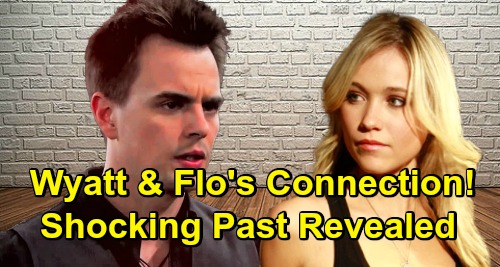 The Bold and the Beautiful Spoilers: Flo and Wyatt's Stunning Connection Revealed – Past Link Brings Baby Swap Shocker