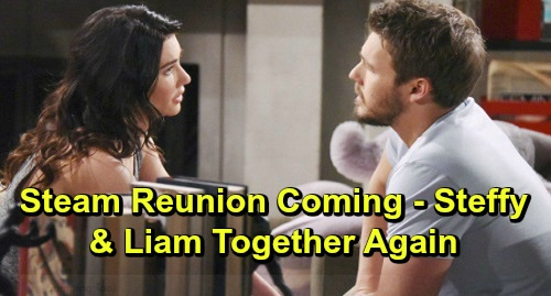 The Bold and the Beautiful Spoilers: 'Steam' Reunion Inevitable – Liam Works to Be a Good Man for Steffy, Show He's Committed Again?