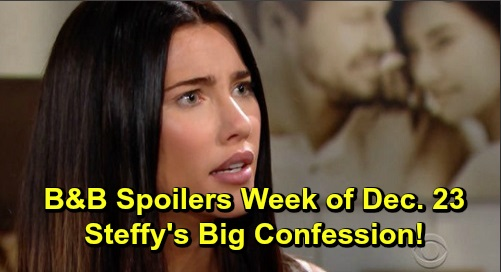 The Bold and the Beautiful Spoilers: Week of December 23-27 – Steffy's Confession – Liam Fears Thomas' Dark Side – Zoe's Willpower Fades