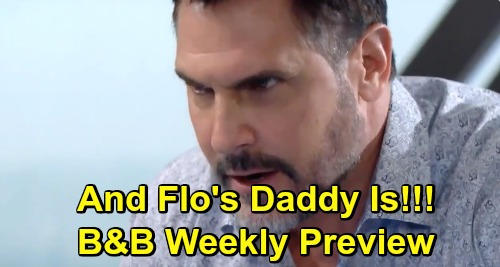 The Bold and the Beautiful Spoilers: Week of April 8 Preview – Bill Says Shauna's a Gold Digger – Flo's DNA Test Paternity Reveal