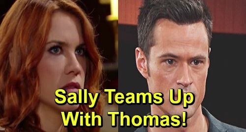 The Bold and the Beautiful Spoilers: Dumped Sally Teams Up with Thomas – Wyatt's Rejection Sparks Dangerous Reunion?