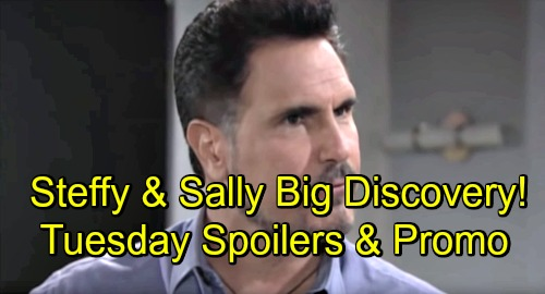 The Bold and the Beautiful Spoilers: Tuesday, September 18 – Steffy and Sally Score Surprising Model – Bill's Rage Boils Over