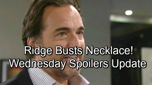 The Bold and the Beautiful Spoilers: Wednesday, October 31 – Furious Ridge Makes a Destructive Move – Pam Faces a Flood of Memories