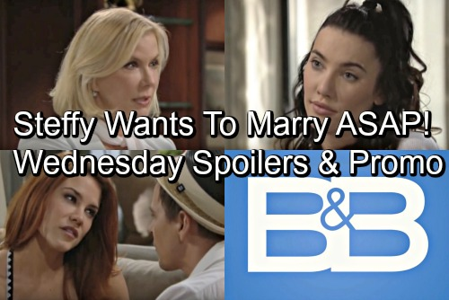 The Bold and the Beautiful Spoilers: Wednesday, July 4 – Liam Faces a Baby Boom – Steffy's Ready to Marry ASAP