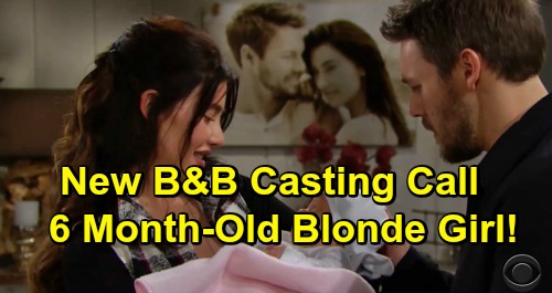 The Bold and the Beautiful Spoilers: New B&B Baby Casting Call – Exciting Steffy and Phoebe Developments Underway