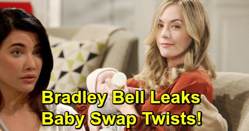 The Bold and the Beautiful Spoilers: Bradley Bell Leaks New Story Hints, Reveals Baby Swap Twists – Beth Bomb Set to Blow